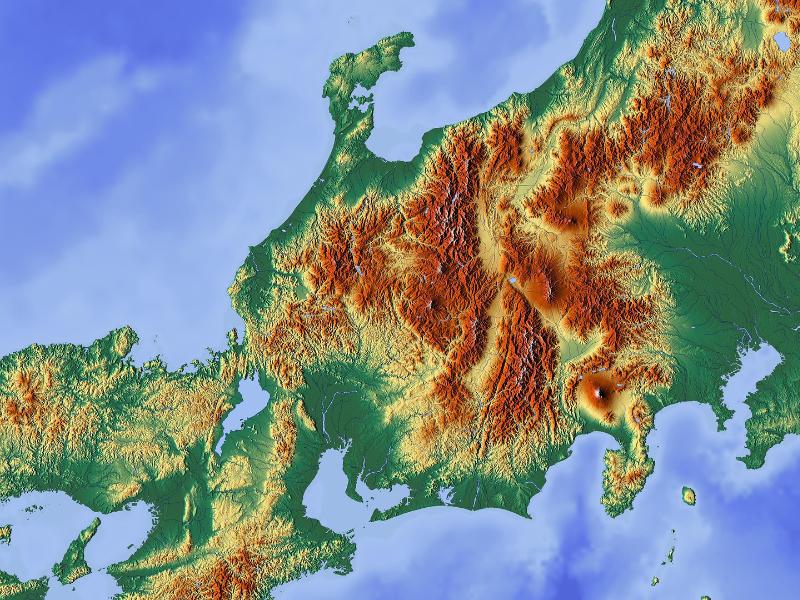 Gographie Du Japon Les 4 Principales