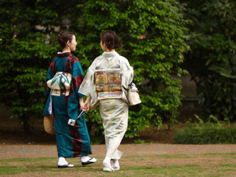 Kimono japonais et Yukata au Japon