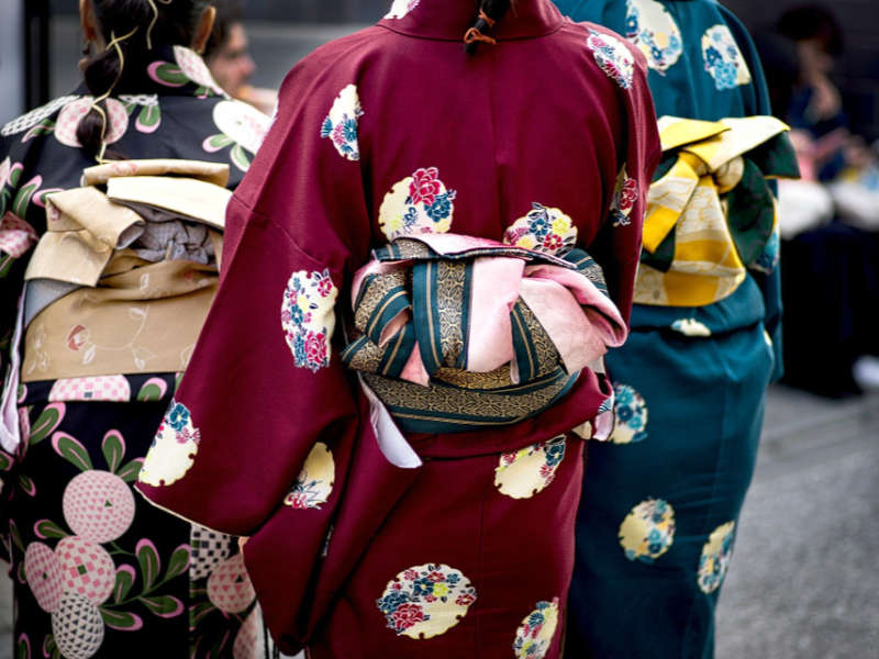 L'art du kimono au Japon